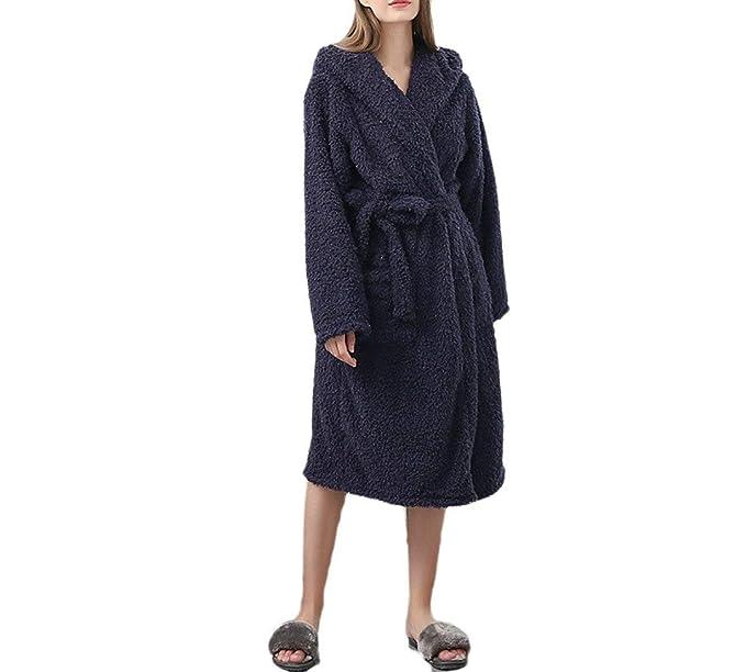 Señoras De Lujo De Cálido Suave Franela Pijama Traje De Baño ...
