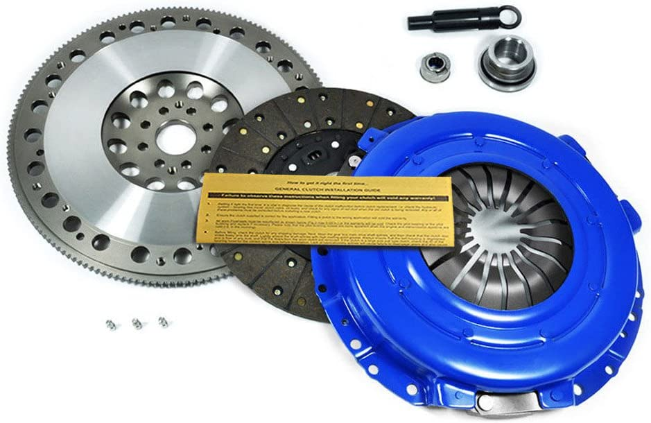 EFT STAGE 3 CLUTCH KIT+CHROMOLY RACE FLYWHEEL WORKS WITH MUSTANG GT COBRA SVT 4.6L 8-BOLT