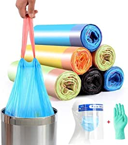 Quality vuilniszakken, prullenbak wordt gevoerd vuilniszakken, koord vuilniszak, stevige en dikke Kitchen Huishoudelijke Plastic zakken osmlvjj (Color : B (Accessories))