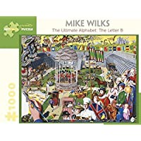 Mike Wilks the Ultimate Alphabet the Letter B 1000-Piece Jigsaw Puzzle Aa963