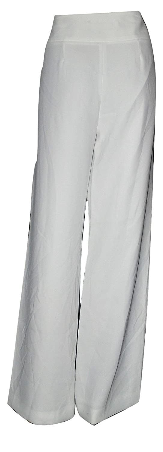 Jones New York Women's Portofino Wide Leg Dress Pants White Size 6