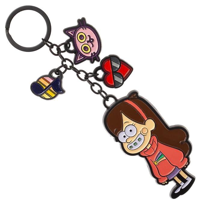 Amazon.com: Gravity Falls - Llavero con abalorio de Mabel ...