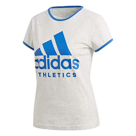 adidas Women Tshirts Running Athletics Sport ID Tee Training