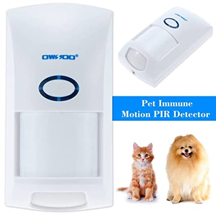 Amazon.com : Wireless Motion PIR Sensor Wireless 25KG Pet ...