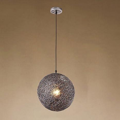Lampadari Rotondi Moderni.Led Lampadari Rotondi Retro Creativo Lampada Da Soffitto In