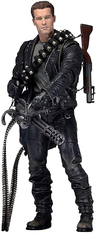 UanPlee-SC Personajes Anime Terminator 2-Day Judgment 7 Ultimate Terminator Figura de acción Modelo de PVC SP471QM