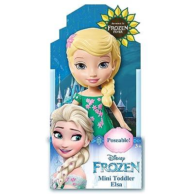 Disney Frozen Fever Toddler Elsa Mini Poseable Doll: Toys & Games