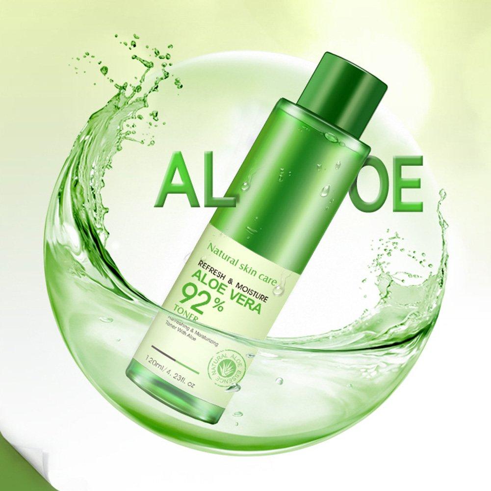 Bioaqua Aloe Vera Toner Soothing Moisture 92 Aloevera Miracle Moisturizing Face Essence Replenishing Whitening Facial Liquid For Skin Care