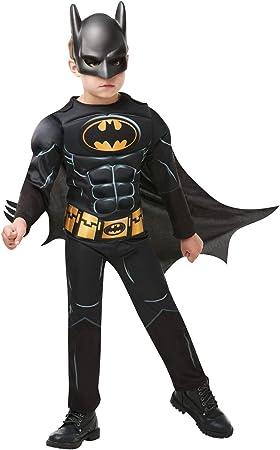 Rubies - Disfraz de Batman Deluxe para niño, 5-6 años (Rubies ...