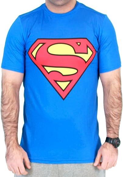 Camiseta deportiva de compresión con logotipo rojo de Superman para hombre - Multi - 3X-Large: Amazon.es: Ropa y accesorios
