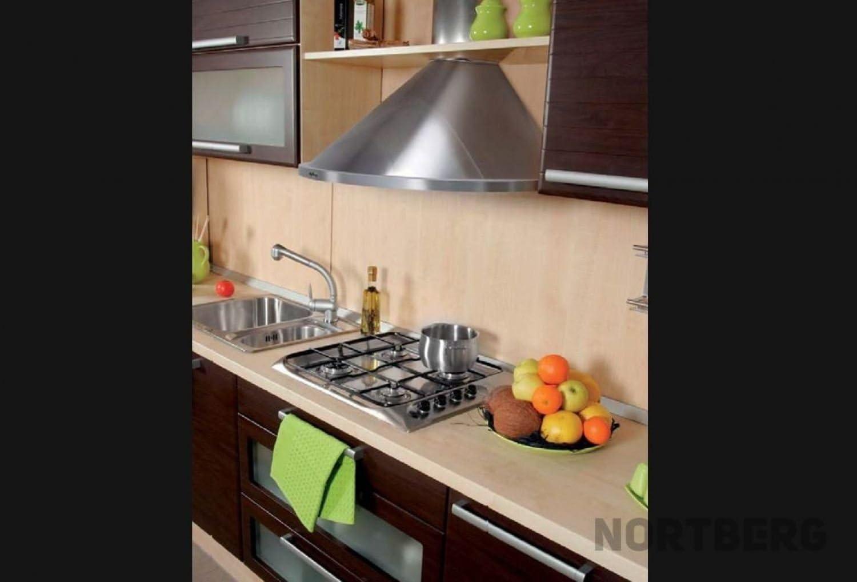 Nort Berg Rondo Campana extractora, pared, 50 cm, acero inoxidable: Amazon.es: Grandes electrodomésticos