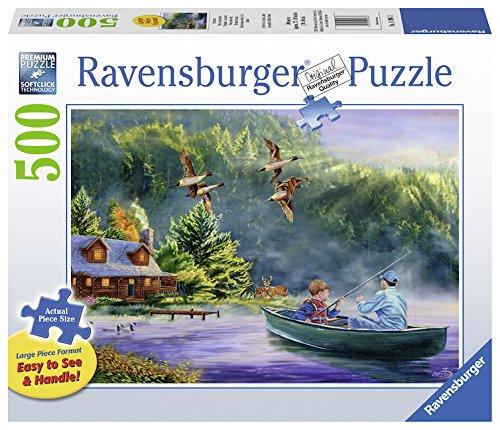 Ravensburger Weekend Escape Jigsaw Format Puzzle (500 Piece), Large, Multicolor
