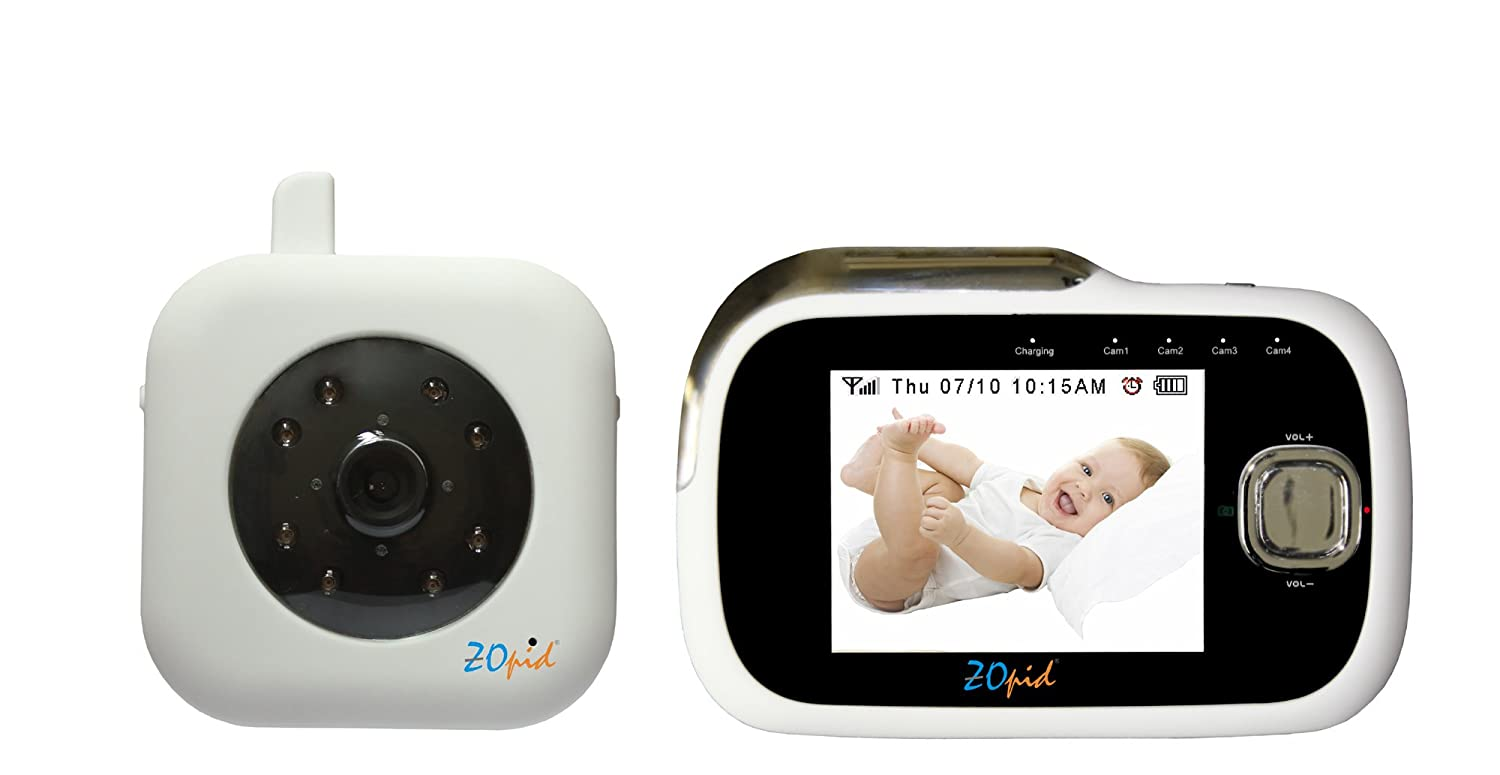 Zopid Digital Audio Video, Baby or Security Monitoring System with ...
