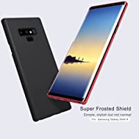 Nillkin Super Frosted Shield Hard PC Case Cover with Screen Protector for Samsung Galaxy Note 9 (Black)