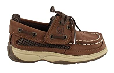 wide range latest fashion new arrival SPERRY KIDS Boy's, Lanyard Boat Shoes Brown 9 M