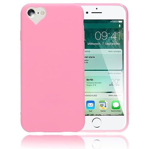 5 opinioni per iPhone 8 / 7 Cuore Custodia Protezione di NICA, Ultra-Slim Case Cover Protettiva
