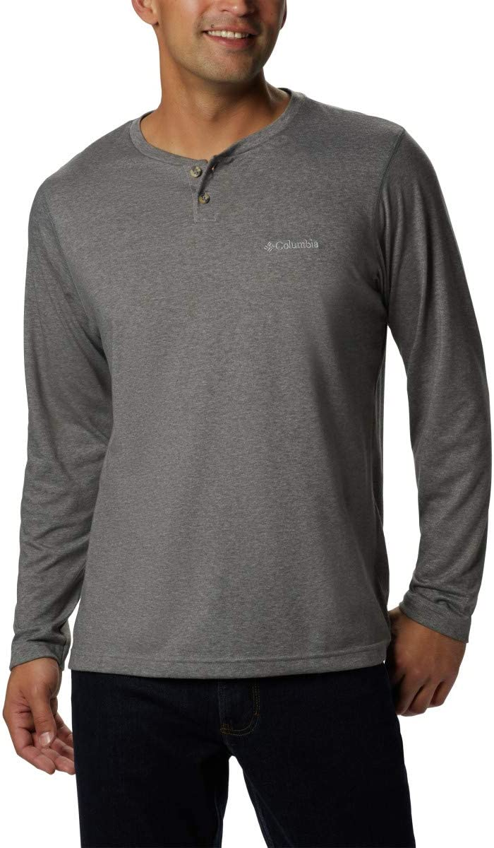 Columbia Men's Thistletown Park Henley: Sports & Outdoors