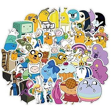 50 Unids Anime Aventura Tiempo Pegatinas Paquete para Los Niños En ...