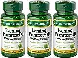 Evening Primose Oil 1000 mg, 3 Bottles (60 Count)