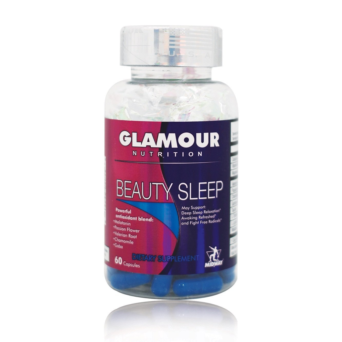 Midway labs Glamour Nutrition Beauty Sleep, 60 Capsule