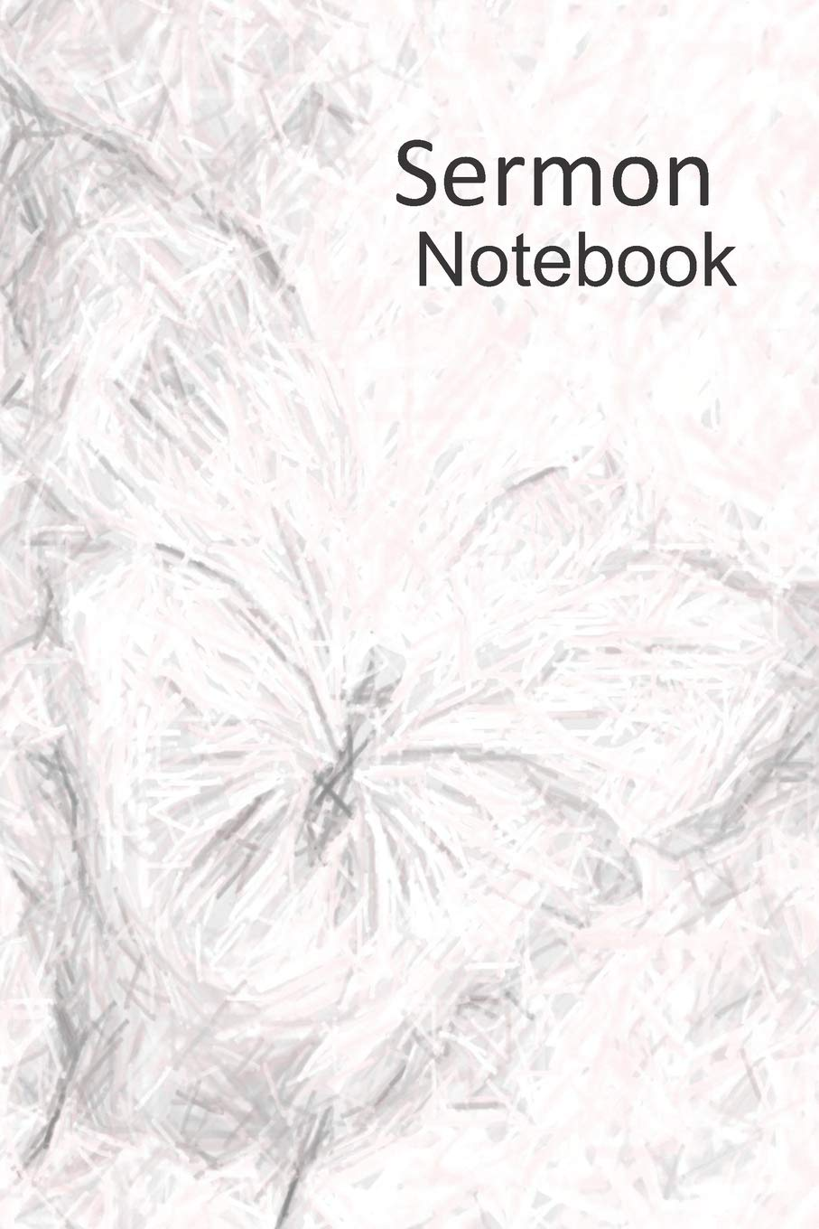 Sermon notebook weekly reflections pencil sketch butterfly design paperback november 20 2018