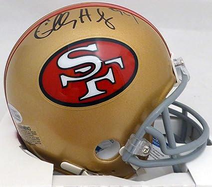 d36f86813d9 CHARLES HALEY AUTOGRAPHED SAN FRANCISCO 49ERS MINI HELMET BECKETT BAS STOCK   132509