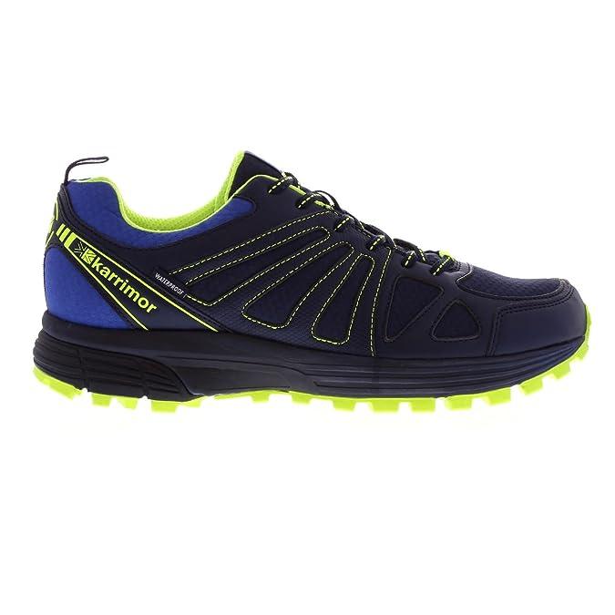 Karrimor Hombre Caracal Zapatillas Impermeable Trail Running Azul ...