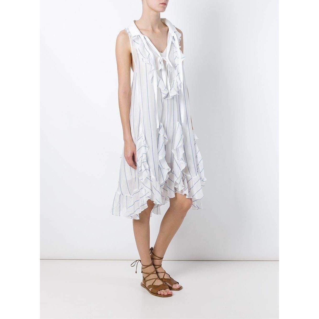 Chloe Chloé Ruffled Silk Loose Dress