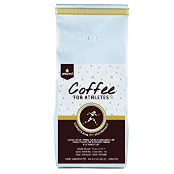 Amazon.com: Unived Sports Coffee for Athletes, 100% Premium Arabica ...