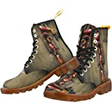 Shoes Zombie Hand Lace Up Martin Boots For Men