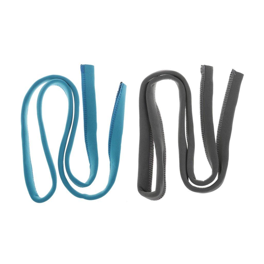 Homyl 1 Par de Paquete de Hidratación Tubo de Vejiga con Funda Aislante Pieza de Mantenamiento - Gris azulado