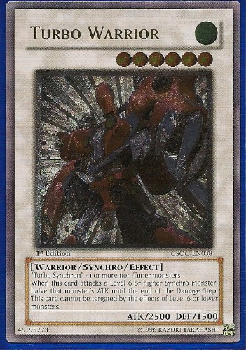 Yu-Gi-Oh! - Turbo Warrior CSOC-EN038 Ultimate Rare Card