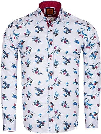 Makrom - Camisa Formal - para Hombre: Amazon.es: Ropa y accesorios