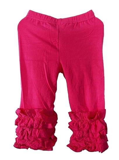 427686343fc795 Amazon.com: Newborn Infant Baby Girls Ruffle Pants Cotton: Clothing