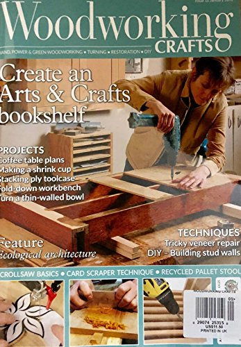WOOD WORKING CRAFTS MAGAZINE, JANUARY 2018 ISSUE 35 by Generic (Image #1)