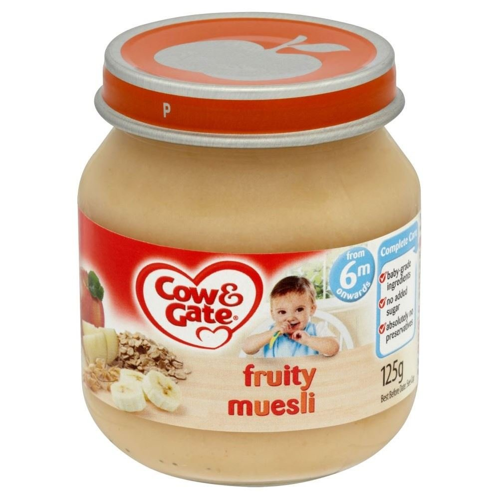 Cow & Gate Fruity Muesli 6mth+ (125g) Grocery