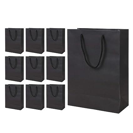 10 bolsas de regalo de papel kraft, bolsas de regalo con ...