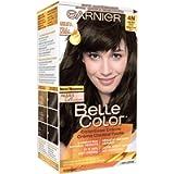 Garnier Belle Color, Permanent Hair Color Nudes Collection, 4N Dark Nude Brown Hair Dye With Argan Oil, 100% Grey…
