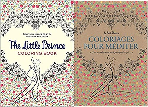 The Little Prince Petit Coloriages Pour Mediter Coloring Book Package