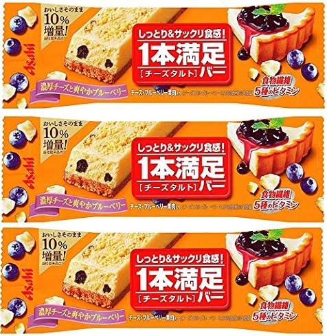 【アサヒグループ食品】1本満足バー チーズタルト 1本×3本