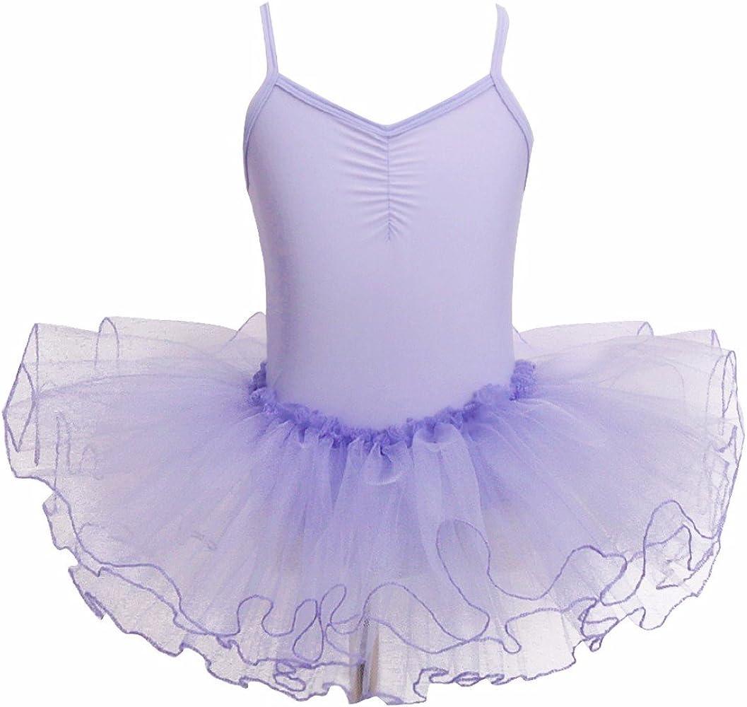 IEFIEL Maillot Vestido de Danza Niñas de Fiestas Leotardo de ...