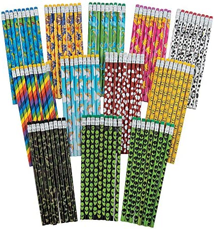 Fun Express Wooden Owl Valentines Day Pencils 48 Pack
