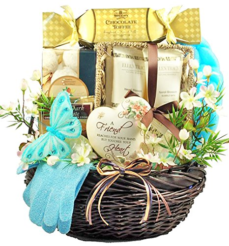 A Friend Reaches For Your Hand But Touches Your Heart | Gift Basket