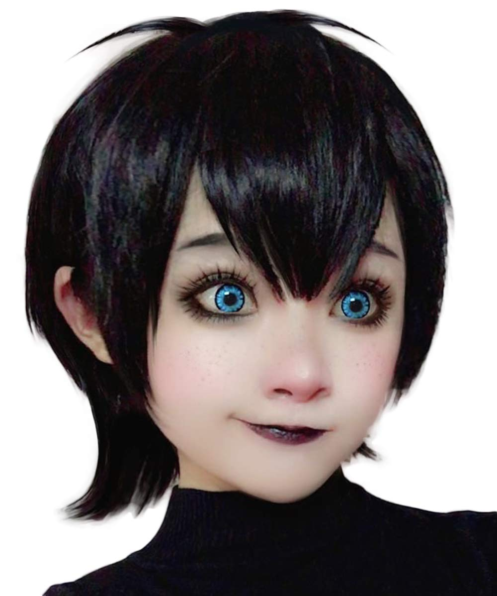 Black Wig Short Curly Hair Wigs for Women