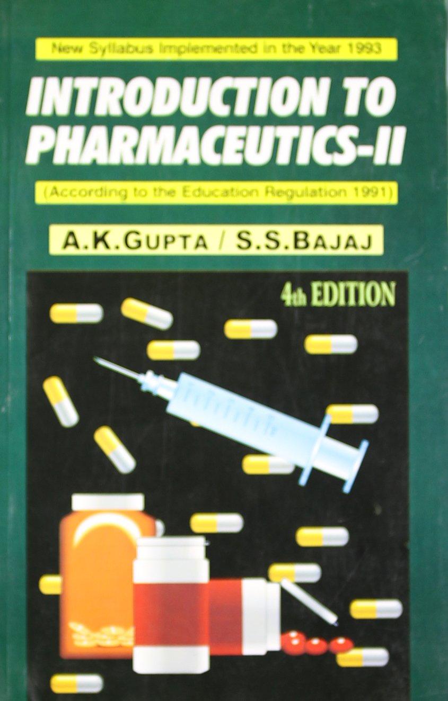 Introduction to Pharmaceutics (v. 2) pdf