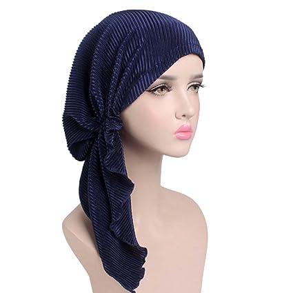 sortie en ligne aperçu de grande collection iKulilky Bonnet Chimio Écharpe tête de femme Bonnet de ...
