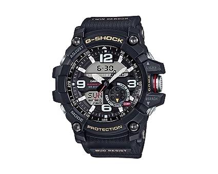 Casio Reloj Analógico-Digital para Hombre Correa en Resina GG-1000-1AER: Amazon.es: Relojes