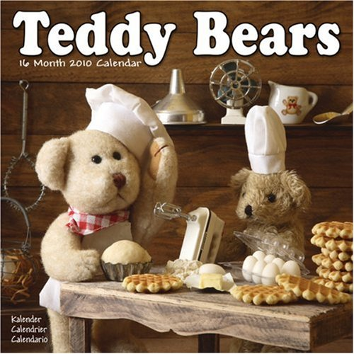 Calendar Wall 2010 Bears (TEDDY BEARS 2010 Wall Calendar #30241-10)