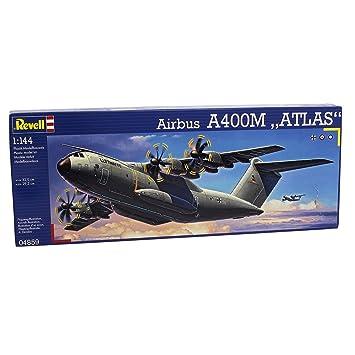 Revell - Maqueta Airbus A400M Atlas, Escala 1:144 (04859)