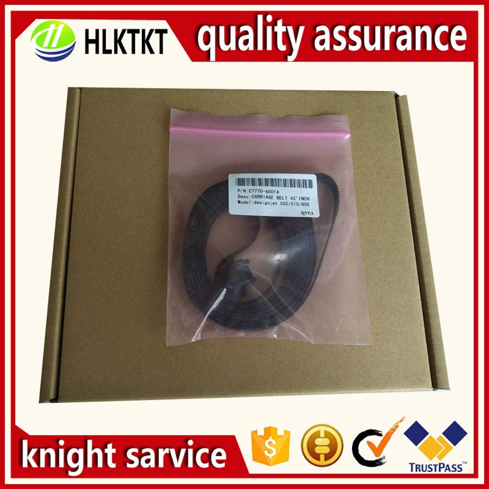 Printer Parts 2PC 24 inch A1 C7769-60182 42 inch B0 C7770-60014 for HP DesignJet 500 510 800 815 820 500ps 510PS 800PS Carriage Belt Assembly - (Color: 42-inch C7770-60014)